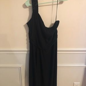Dresses & Skirts - Black one strap dress